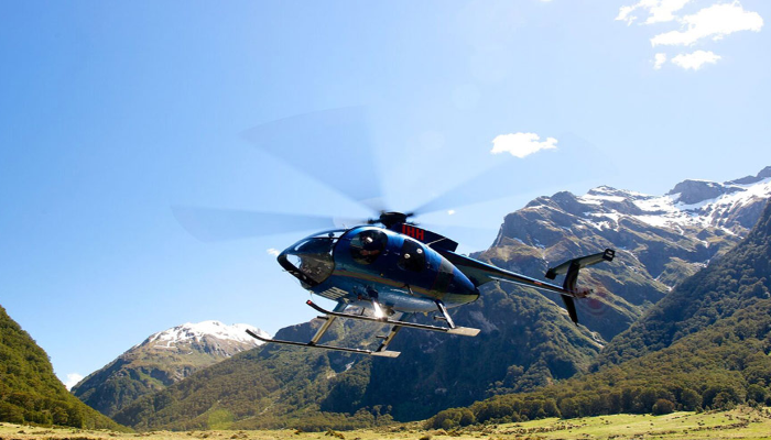 From Mountainview Makarora Accommodation take a thrilling scenic flight with Back Country Heli